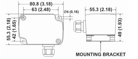 Czujnik temperatury zewnętrznej AF00, AF01, AF10, AF20 HONEYWELL