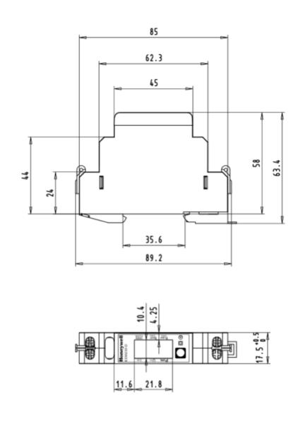 Jednofazowe liczniki energii elektrycznej EEM230 (D32A, LCD) TREND