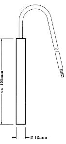 Czujnik temperatury gruntu EF20 HONEYWELL