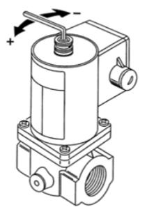Elektromagnetyczny zawór gazu GVF TREND