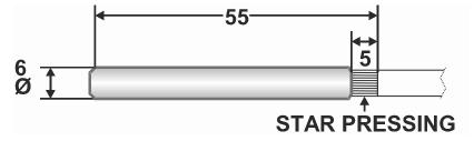 Czujnik temperatury wody, kablowy KTF20 HONEYWELL
