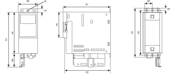 Przemienniki częstotliwości NXLAA 1,1..30kW IP21/ IP54 TREND