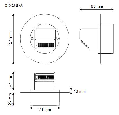 Detektory obecności OCC TREND