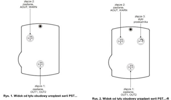 Elektroniczny przetwornik ciśnienia PST, PST...R HONEYWELL