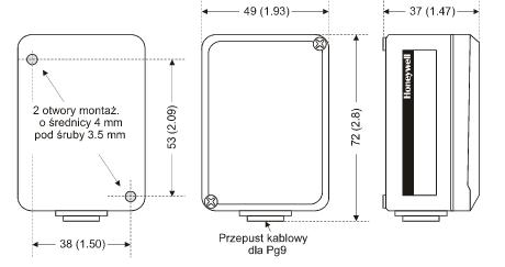 Czujnik temperatury zewnętrznej T7416A HONEYWELL
