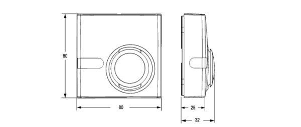 Czujniki wilgotności HT-1000 JOHNSON CONTROLS