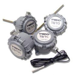 Obiektowe czujniki temperatury TB/TC, TB/TI oraz TB/TO TREND