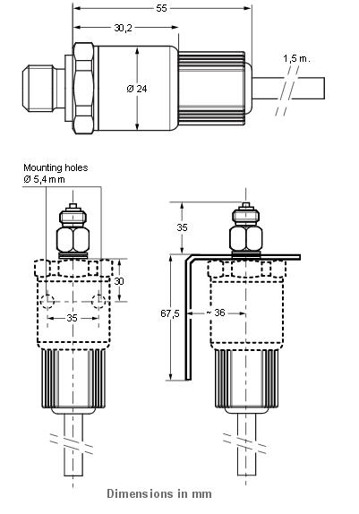 Przetwornik ciśnienia PT-5217 JOHNSON CONTROLS