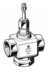 Zawór regulacyjny przelotowy V5011R i V5011S HONEYWELL (PN16, DN15-50)