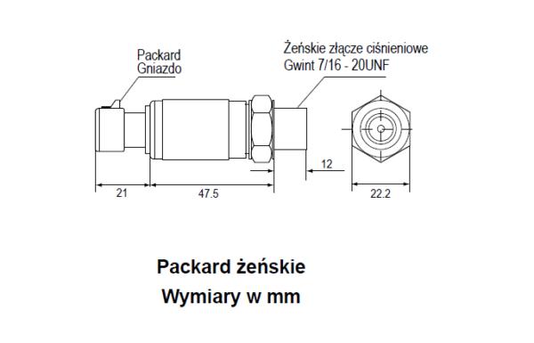 Przetwornik ciśnienia P499 PENN®