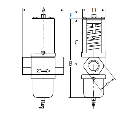 Zawór wodny temperaturowy V47 JOHNSON CONTROLS