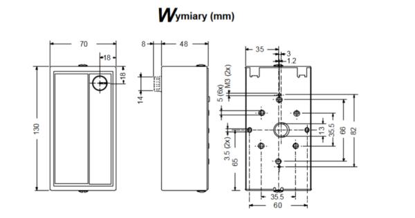 Higrostat pomieszczeniowy W43 JOHNSON CONTROLS