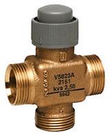 Three-way valve PN16, DN15/20, V5823A TREND