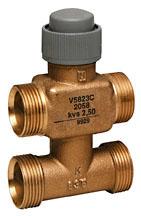 Three-way valve PN16, DN15/20, V5823C TREND