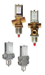 Zawory wodne regulacyjne bezpośredniego działania dla układów wysokociśnieniowych V246  V248 JOHNSON CONTROLS