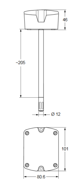 Czujnik wilgotności HT-1300 JOHNSON CONTROLS