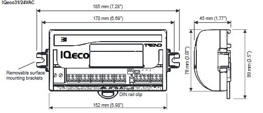 Sterownik IQeco31 wersja 24V TREND