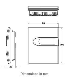 Czujnik CO², wilgotności i temperatury CD-3xx-E00-00 JOHNSON CONTROLS