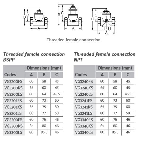 Zawór strefowy VG3000 JOHNSON CONTROLS