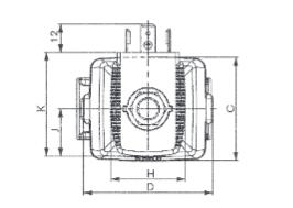 Zawór elektromagnetyczny do wody pitnej ATE HONEYWELL