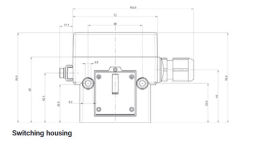 Pomieszczeniowy termostat w wersji przeciwwybuchowej do obiektów przemysłowych Ex-TRM FEMA