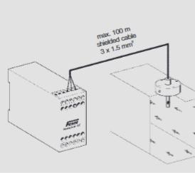 Elektroniczny czujnik przepływu powietrza ASL FEMA