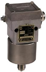 Presostat w wersji przeciwwybuchowej do gazów palnych Ex-DGM FEMA