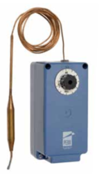 Termostaty z kapilarą oraz termostaty z elementem do pomiaru temperatury otoczenia A19 IP65 JOHNSON CONTROLS