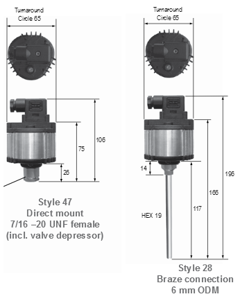 Regulator jednofazowy bezpośredniego montażu P215PR PENN®