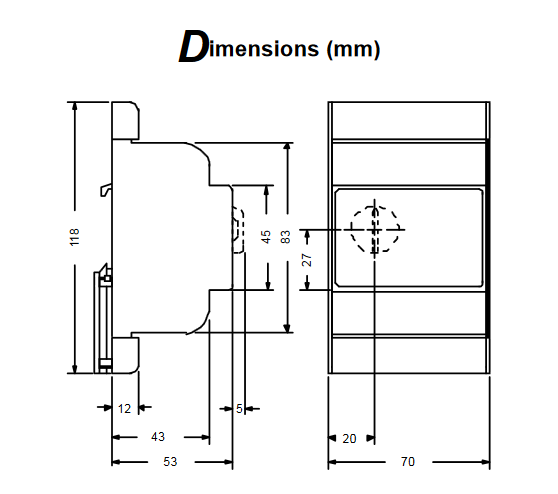 Modułowy elektroniczny system kontroli temperatury A27 PENN®