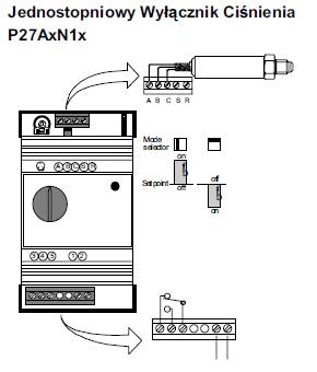 Moduł regulacji ciśnienia P27 JOHNSON CONTROLS