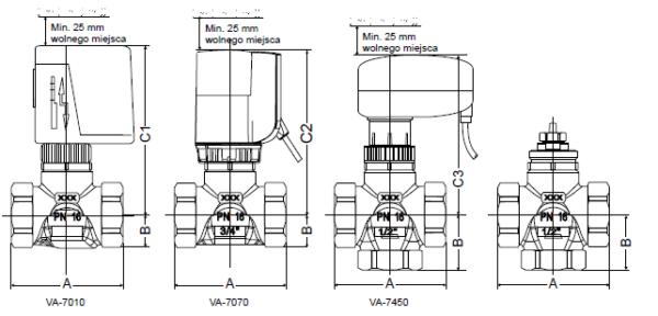 Zawory strefowe VG4000 JOHNSON CONTROLS
