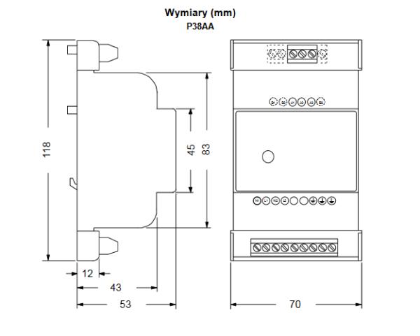 Sterowniki prędkości silników wentylatorów skraplaczy P215LR P215BR PENN®