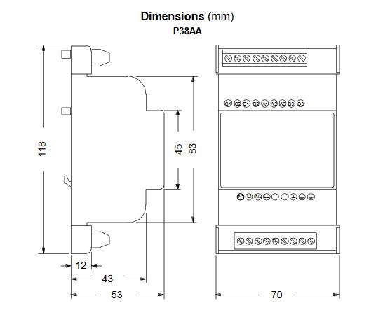 Sterownik prędkości silników wentylatorów skraplaczy P215TR JOHNSON CONTROLS
