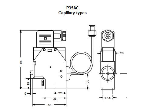 Sterowniki prędkości silników wentylatorów skraplaczy P215TR PENN®