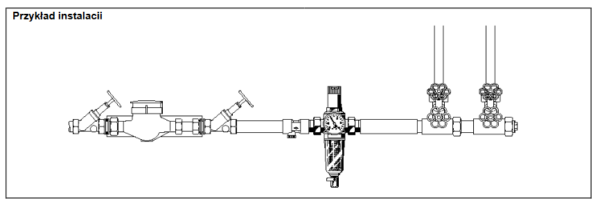 Filtr do wody z regulatorem ciśnienia FK06 HONEYWELL