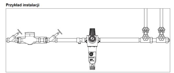 Filtr do wody z regulatorem ciśnienia z płukaniem wstecznym FKN74CS HONEYWELL