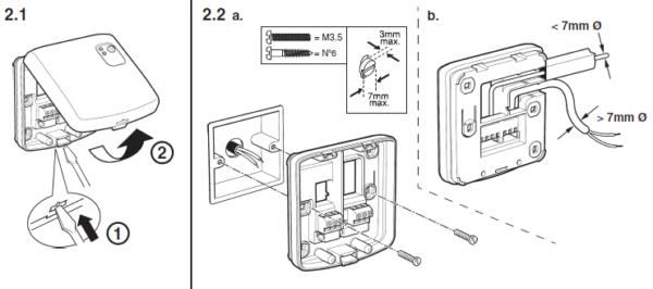 Bezprzewodowy moduł przekaźnikowy BDR91 EVOHOME HONEYWELL