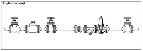 Regulator ciśnienia, kołnierzowy D17P HONEYWELL