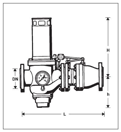 Rozłącznik hydraulicznego działania GB-R295HP-F HONEYWELL Braukmann