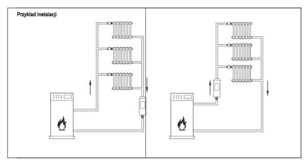 Separator powietrza i osadów HF49 HONEYWELL