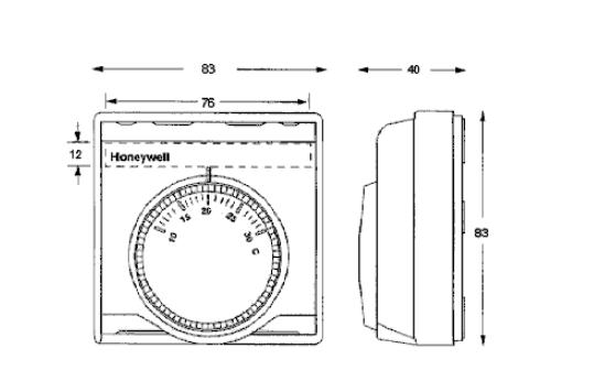 Termostat pomieszczeniowy antyzamarzaniowy T4360 HONEYWELL