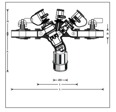 Izolator przepływu zwrotnego z obniżoną strefą ciśnienia BA295CS HONEYWELL