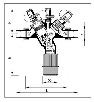 Izolator przepływu zwrotnego ze stali nierdzewnej BA295I HONEYWELL