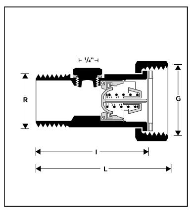 Zawór zwrotny antyskażeniowy EA-RV277 HONEYWELL Braukmann