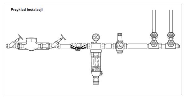 Zawór zwrotny antyskażeniowy EA-RV281 HONEYWELL
