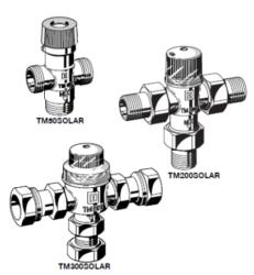 Zawór mieszający termostatyczny TM50 TM200 TM300SOLAR HONEYWELL