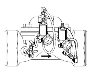 Zawór pierwszeństwa VV300/VV100 HONEYWELL