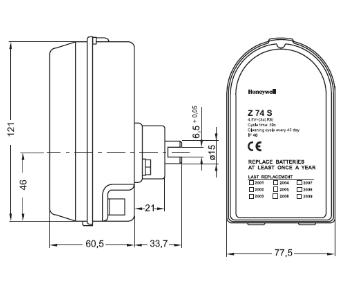 Automat do płukania wstecznego Z74S HONEYWELL