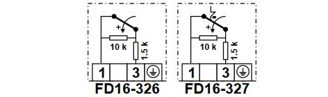 Presostat do gazu płynnego FD16 HONEYWELL